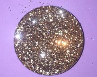 Champagne Gold Pressed Glitter Eyeshadow