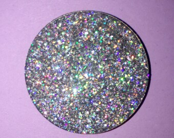Prismatic Silver Pressed Glitter Eyeshadow