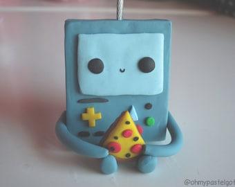 Adventure Time BMO Polymer Clay Figure