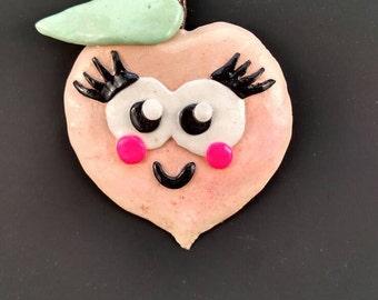 Munchy Magnet-Peach