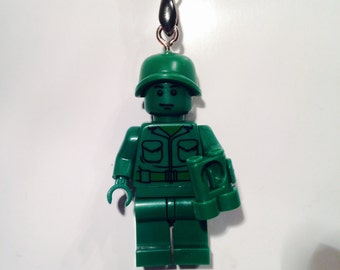 Lego Toy Story Green Army Man Necklace Pendant