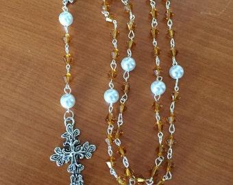 Topaz (November Birthstone) Rosary