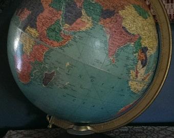 Vintage Replogle 12 inch Reference Globe