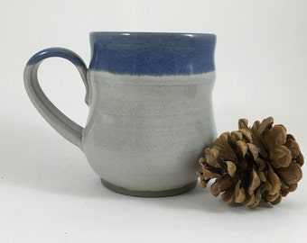Handmade Ceramic Mug, Wheel Thrown Pottery Mug