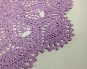"""Lavender Doilie 11"""" (#03-03-4)"""