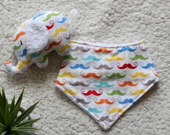 Handmade baby dribble bibs