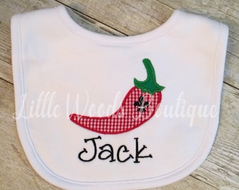 UL Ragin Cajun Baby Bib - UL Lafayette - ULL Bib