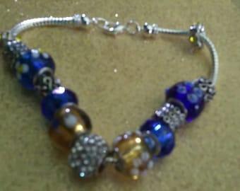 Pandora Look-a-Like Bracelet
