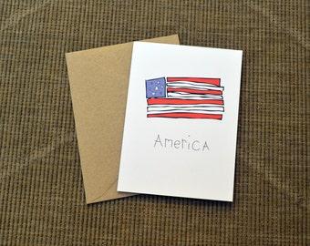 America Greeting Card!