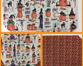 Halloween Reversible Placemats set of 4