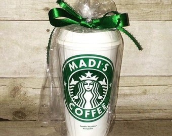 A Personalized Starbucks Customized cups SC1174