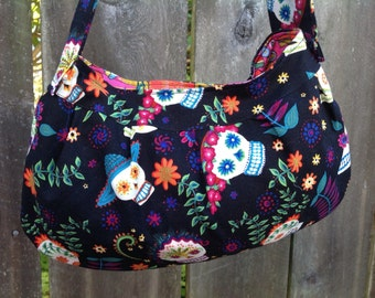 Day of the Dead Buttercup Bag