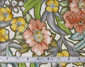 Windham Fabrics, Tiffany, flowers, floral fabric