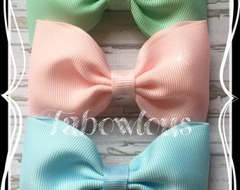 3.5 inch Tuxedo  Hair Bow, Hairband or Clips