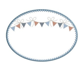 Party Garland Frame