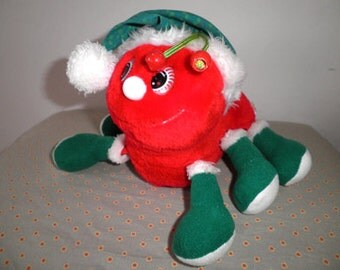 Christmas Lots-a-Lots-Leggggggs, 1984, vintage tedddy