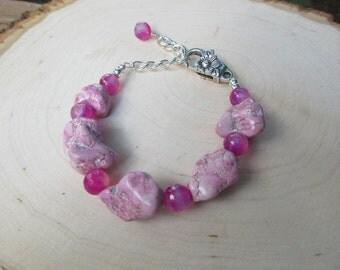 Chunky Pink Bracelet