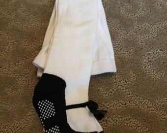 Black mary jane shoe leotards/leggings