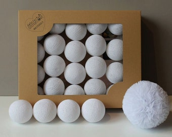 Cotton Balls All White 10 items
