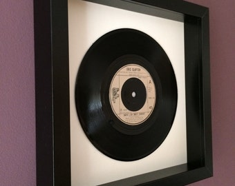 "Eric Clapton ""Swing Low Sweet Chariot"" Rugby Anthem - Framed Vinyl Gift"