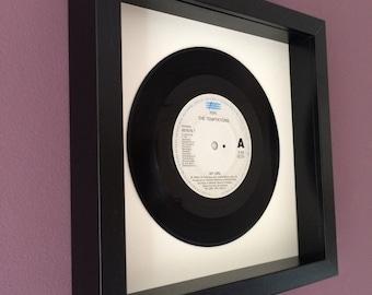 """The Temptations """"My Girl"""" - Framed Vinyl Gift"""