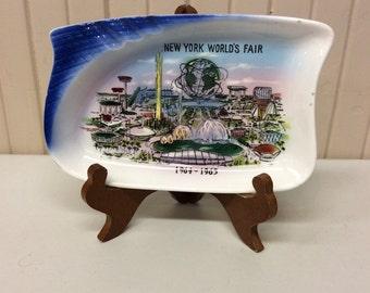 New York Worlds Fair plate 1964-1965