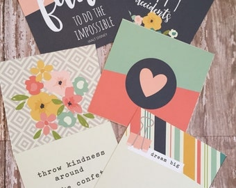 Posh Project/Journal Card Set by Simple Stories