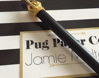 Matte Black Crown Pen
