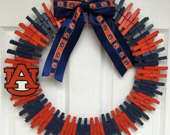 Auburn University Wreath