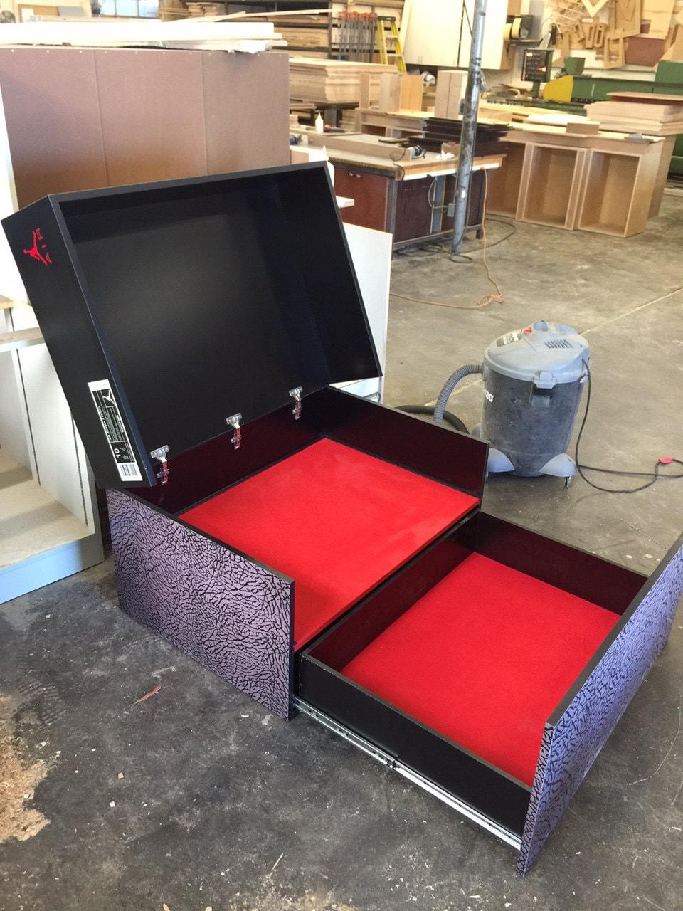 Custom Air Jordan Shoe Box