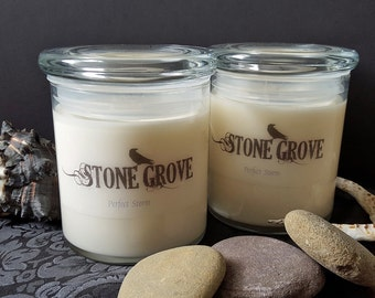 Soy Candle, Perfect Storm 16 oz White