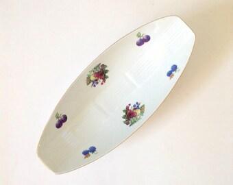 Oblong Bowl Fruit Design House Warming Gift Naaman Israel