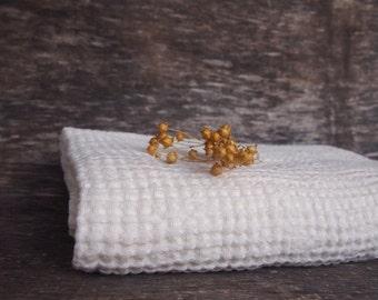 Linen Bath Towel, Eco Linen Towel, Cream Linen Towel, Linen Gift