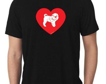 Love Sharpei T-Shirt T1069
