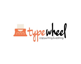 Premade Logo Design, Stationery Paperie Logo, Writer's Logo, Logo Template, Customizable Business Logo, One of a Kind Logo