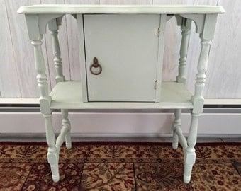 Vintage Humidor Table