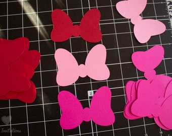 Ribbon Paper Minnie Mouse (Set of 20 Ribbons)