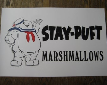"STAY  PUFT - Marshmallows 11"" x 17"" Poster Print - B2G1F"