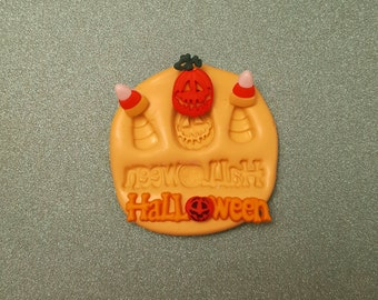 HALLOWEEN pumpkin, candy corn Silicone Mold, gumpaste fondant cake decorating, chocolate, candy, polymer clay