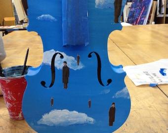 Violin Art Piece