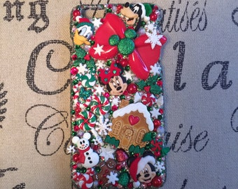 Disney Christmas Themed Cell Phone Case