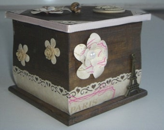 Scrap decor  Box