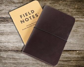 Champ de note de couverture. Format de poche simple et minimaliste pour ordinateur portable housse en cuir pour seule couverture de journal rechargeable dans tous vos déplacements.