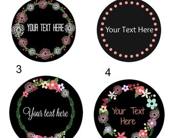 Return Address Label,Custom Stickers,Round Address Label,Address Sticker,label design,Return Address,labels,stickers,PRE DESIGN STICKERS