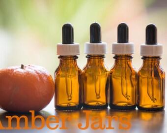 10 x 15ml Amber Glass Bottle Dropper-Aromatherapy, Homeopathy, Bach Flower Remedy