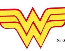 Popular Items For Wonder Woman Logo On Etsy