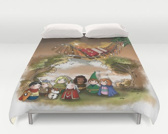 Dungeon & Dragons 02  Duvet Cover /  Dungeon and Dragons bedroom / Dungeon and Dragons 02