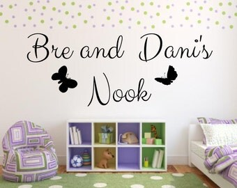 Your Name Here, Create Your Own, Custom Vinyl Decal, Vinyl Letters, Nursery Wall Art, Personalized Wall Decal