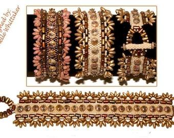 Golden Harvest Bracelet Tutorial PDF