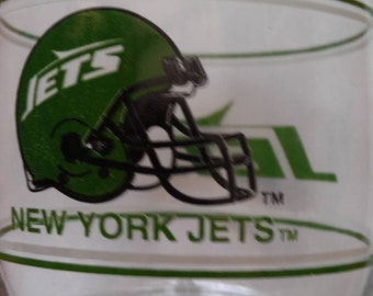 New York Jets Glass Tumbler